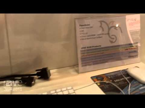 ISE 2015: IHSE Shows Off DVI Extender with Dual-Head, SDI, USB 3.0, and Draco vario HDMI
