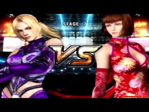 Tekken 5 - Story Battle - Nina Playthrough video