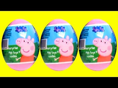 Peppa Pig Surprise Eggs & More!