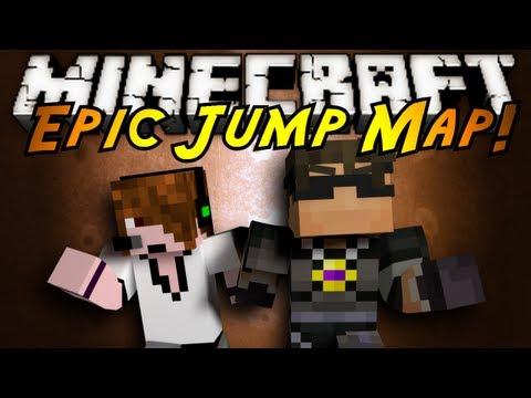 Minecraft: Epic Jump Map Part 1!