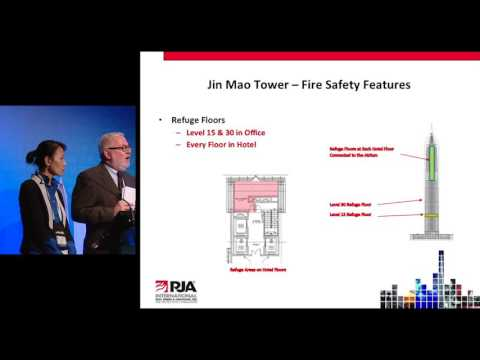 "CTBUH 2014 Shanghai Conference - Fang Li & James Antell, ""Evolution of Building Evacuation"""