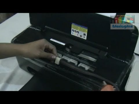 Instalacion de Sistema de tinta T22 Epson Facil