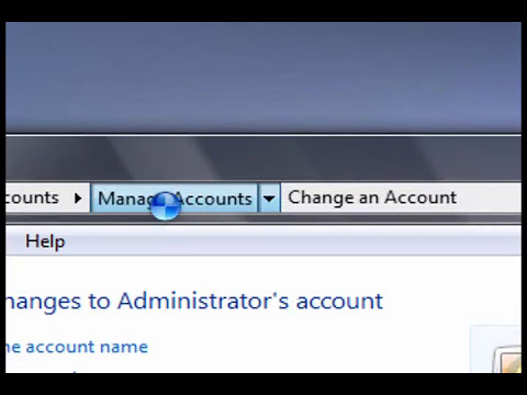 Unlock the Hidden Vista Administrator Account