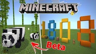 ⭐Nova Versão Minecraft 1.8.0.8 Beta❕🐼Pandas e Gatos🐱