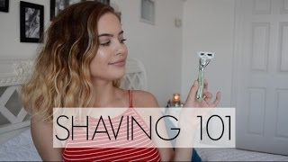 "SHAVING ""DOWN THERE"" 