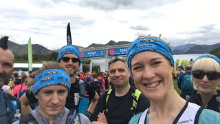 Live before the 25k race at Keswick Mountain Festival (with my awesome Patreons!)