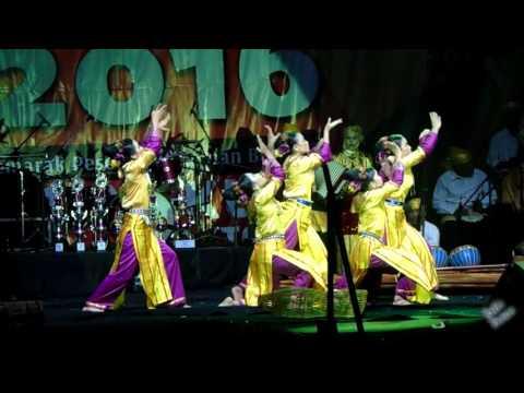 Tari Beghakit Kab. Muko-Muko Juara 1 Festival Tari Kreasi Daerah Prov. Bengkulu #Tabot 2016