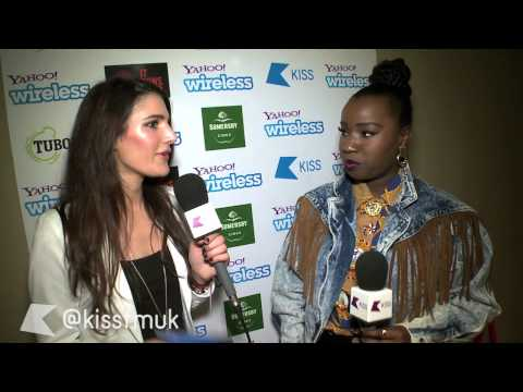 Misha B, Amelia Lily & more at the Yahoo! Wireless Launch Party
