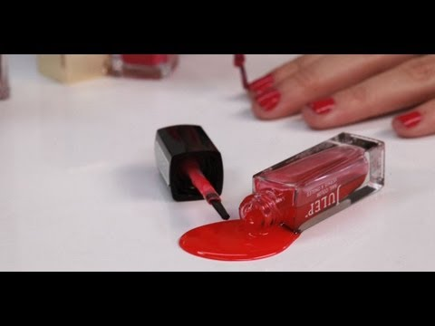How to Get Nail Polish Stains Out of Clothes