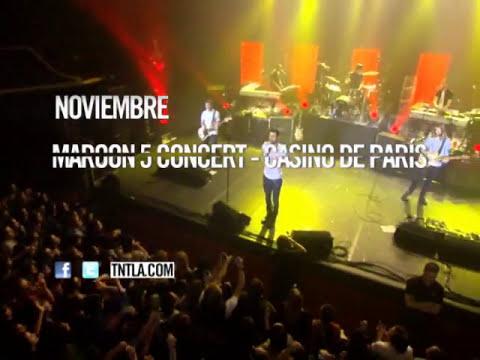 TNT Concert: Maroon 5 en el Casino de París