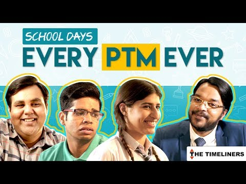 School Days: Every PTM Ever | The Timeliners