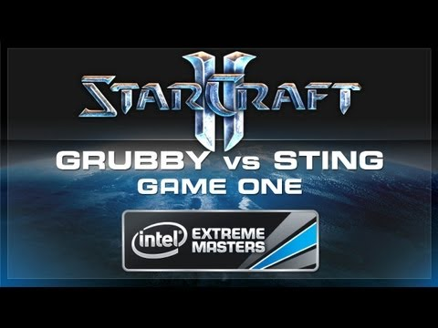 Grubby vs Sting Game 1 SC2 IEM Singapore FINALS