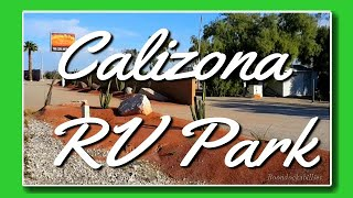 Full Time RV Living: Affordable Calizona RV Park