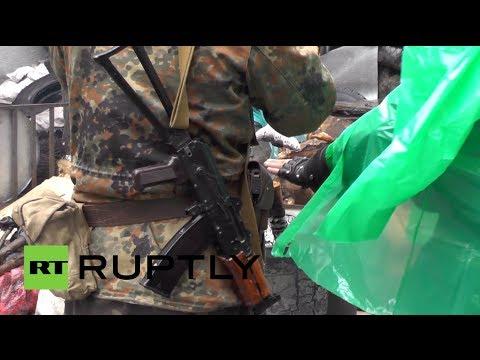 Video: Behind the scenes at anti-Maidan barricades in Slavyansk, east Ukraine