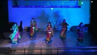 Dhaka Commerce College prize giving ceremony 2014 O mui na shunum dance