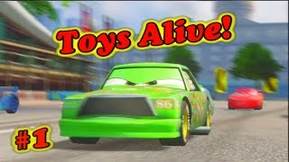 Cars 2 Gameplay - Chick Hicks  Training Part 1