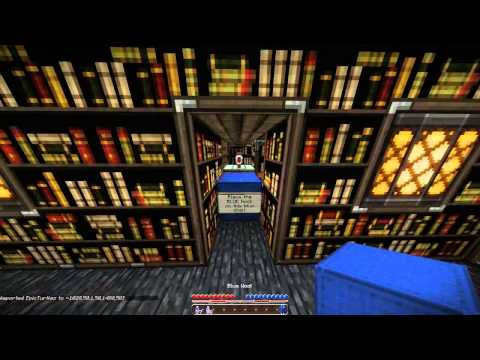 Minecraft 1.5.2 Maps   LIBRARY DROPPER MAP REVIEW