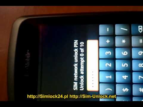 unlocking LG Optimus T by http://sim-unlock.net