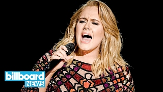 Adele Kicks Off 2017 Grammys with Power 'Hello' Performance | Billboard News
