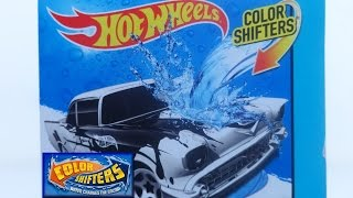 COLOR SHIFTERS HOTWHEELS CHEVY 57 POLICE CAR W ENGINE