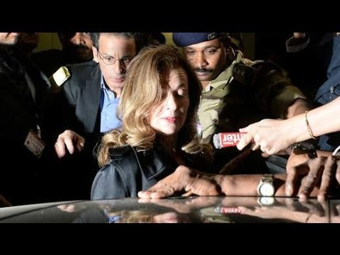 France's Former First Lady Valerie Trierweiler Takes Official Staff On India Visit