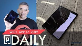 Samsung Galaxy Fold display breaks, OnePlus 7 official teaser & more - Pocketnow Daily