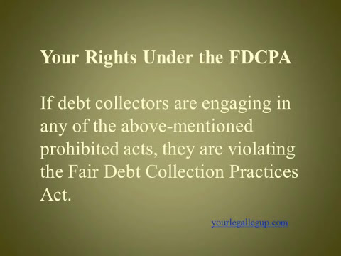 Three Dirty Tricks the FDCPA Specifically Prohibits - Certain Collections Tricks Are against the Law