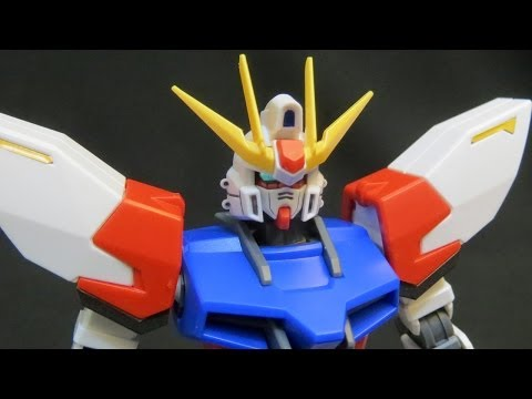 HG Build Strike Gundam (2: Parts) Build Fighter's Sei Iori's custom plastic model review ガンプラ