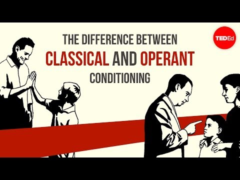 The difference between classical and operant conditioning - Peggy Ando...