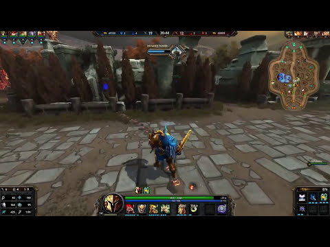 Ares support Ranked! Smite en Español