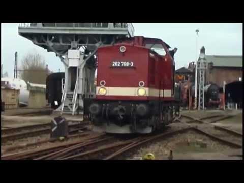VT 18.16. im Sächsischen Eisenbahnmuseum