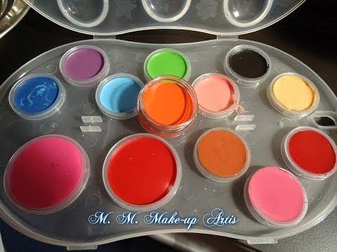 DIY: Cream blush . Lipstick . cream  eyeshadow  /  O trusa personalizata.  idei de cadouri