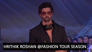 Hrithik Roshan As Showstopper For Tech Fashion Tour Season