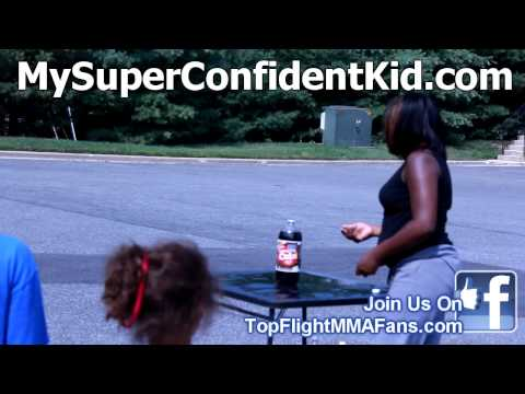 Summer Camp Soda & Mentos Science Experiment/ Top Flight MMA kids Summer Camp
