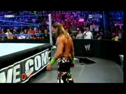 Wwe Survivor Series 2009 John Cena Vs. Triple H Vs. Shawn Michaels (wwe Championship Match) Part 1 3 video