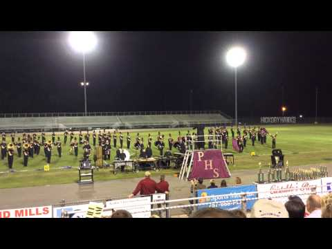 Poquoson High School Marching Band at Southeastern Virginia Music Games 2014