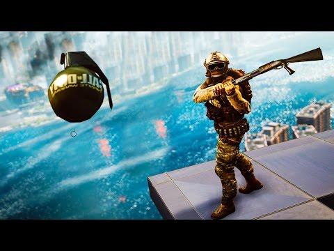 Приколы в играх | WDF 27 | Развлечения в BF4