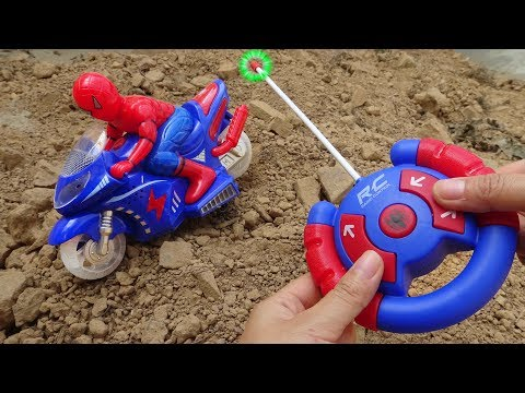 Aircraft, excavators, racing cars, spider cars - F283C Toys for kids