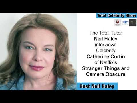 Celebrity Catherine Curtin of Netflix's Stranger Things and Camera Obscura