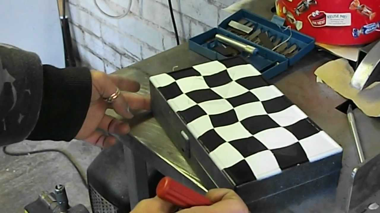 How To Make Checkered Flags In Paint