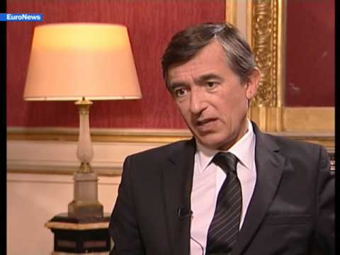 EuroNews - EN - Interview: Philippe Douste-Blazy