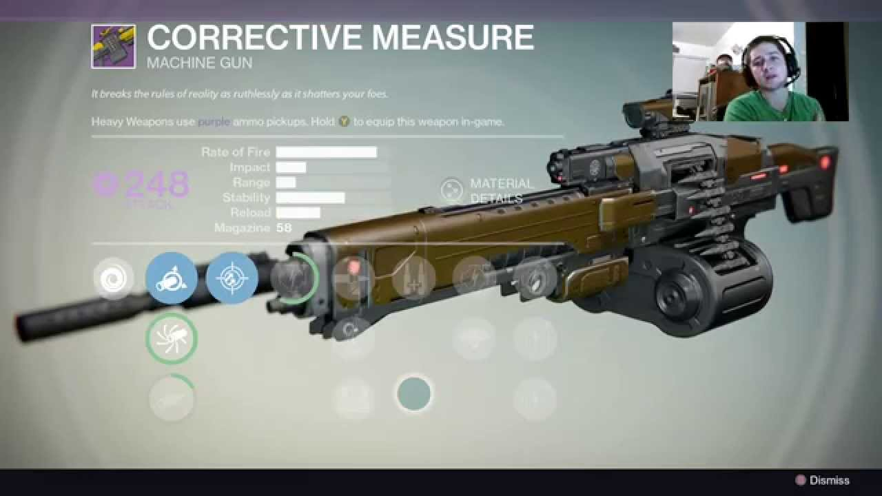 vault of glass machine gun