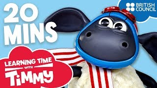 Full Episodes Compilation 1-4 | Learning Time with Timmy | Cartoons for Kids