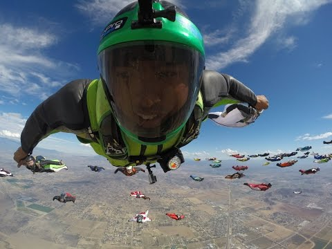 Wingsuit World Record Perris: The Experience