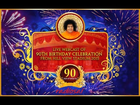 90th Birthday Celebrations of Sathya Sai Baba - Morning - Hill View Stadium - 23 Nov 2015