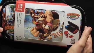 Unboxing y review funda Ardistel Donkey Kong Tropical Freeze Nintendo Switch