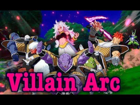 Dragon Ball Fighterz Movie   Villain Arc   All Cut Scenes