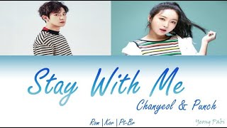 Chanyeol & Punch - Stay With Me (Goblin OST Part. 1) - (Color Coded Lyrics ROM | KOR | PT-BR)