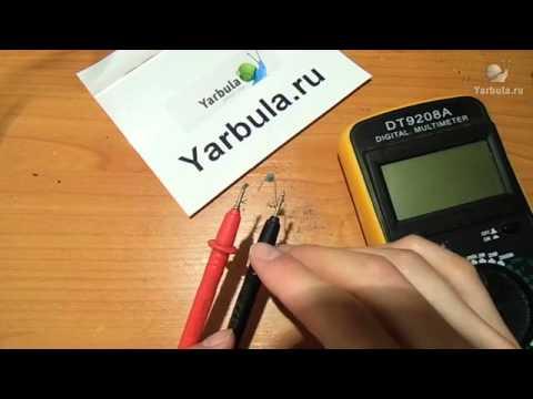 Видео как проверить позистор мультиметром