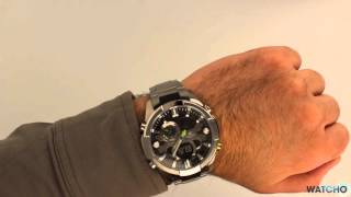 Casio Edifice Premium Chronograph Black Dial Watch ERA-201D-1AVEF - Hands On Review